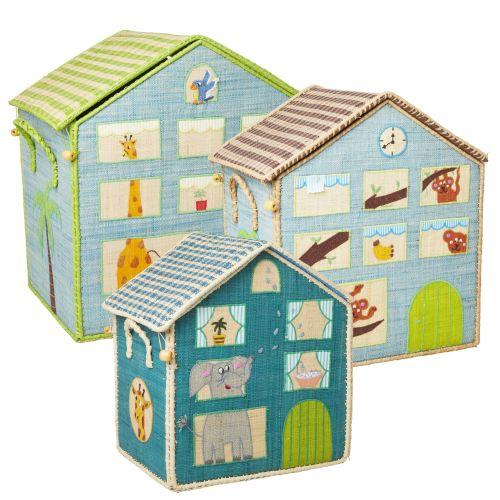 rice / Detský úložný box Jungle House