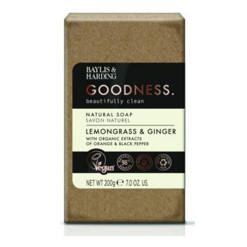 Baylis & Harding / Mydlo Lemongrass & Ginger 200g
