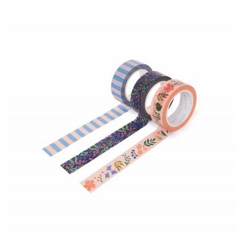 Rifle Paper Co. / Dizajnová samolepiaca páska Tapestry - set 3ks