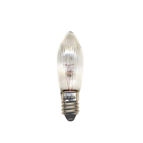 STAR TRADING / Náhradná žiarovka vrúbkovaná E10 55 V - 3 ks