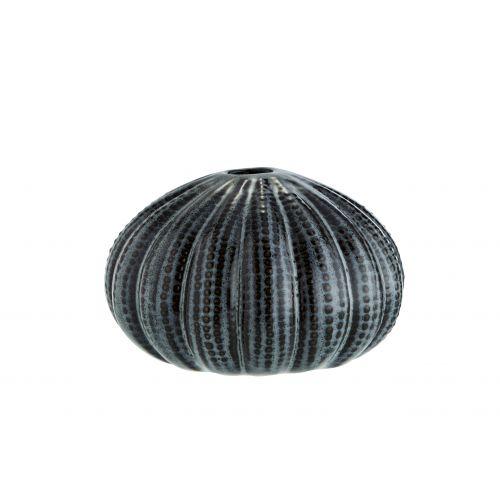 MADAM STOLTZ / Keramická vázička Sea Urchins Grey