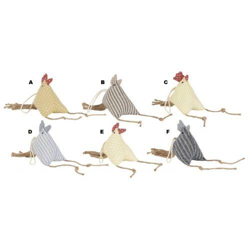 IB LAURSEN / Veľkonočná sliepočka Stripe Hen