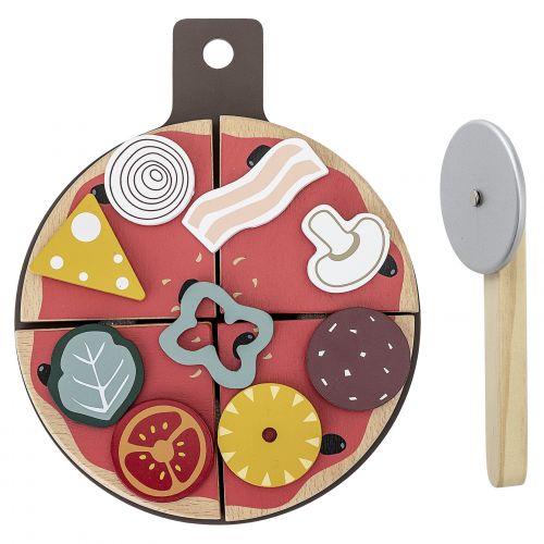 Bloomingville / Drevená hračka - pizza