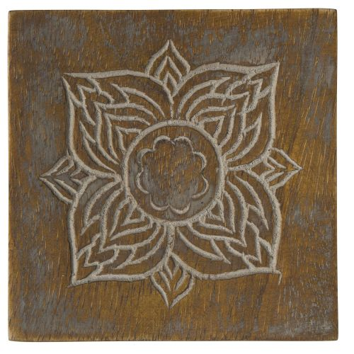 IB LAURSEN / Drevená podtácka Flower