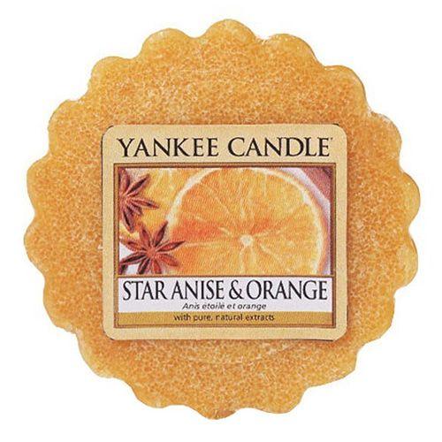 Yankee Candle / Vosk do aromalampy Yankee Candle - Star Anise & Orange