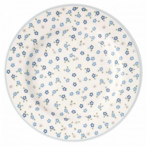 GREEN GATE / Porcelánový tanierik Ellise White