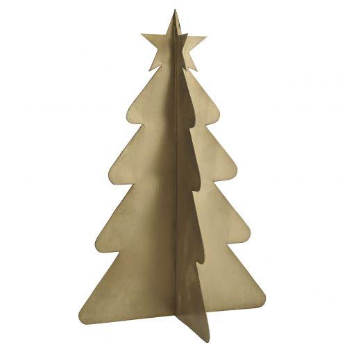 IB LAURSEN / Dekoratívny kovový stromček Brass 24 cm