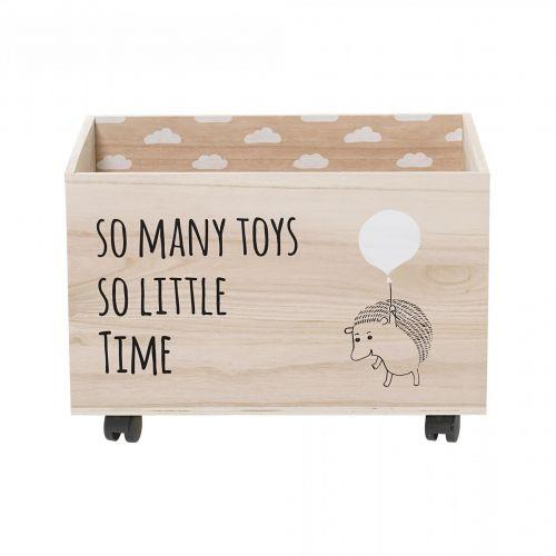 Bloomingville / Úložný box na kolieskach So Many Toys