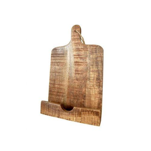 Jeanne d'Arc Living / Drevený stojan na kuchárku Mango Wood