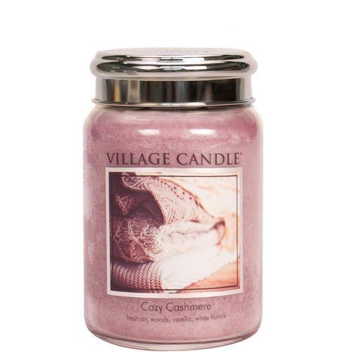 VILLAGE CANDLE / Sviečka Village Candle Cozy Cashmere 602g