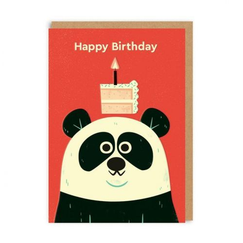 Ohh Deer / Přání k narozeninám Birthday Panda