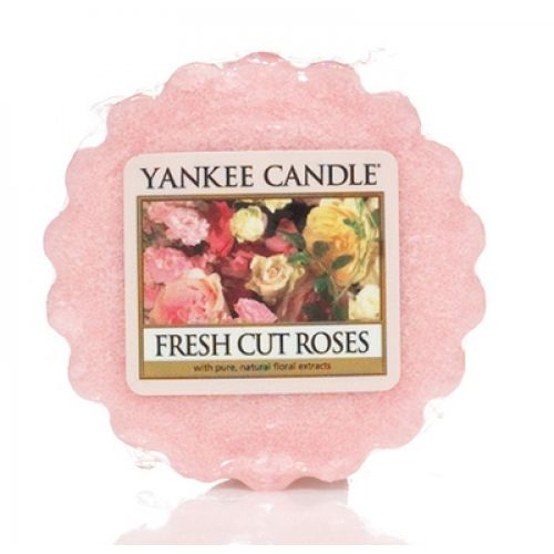 Yankee Candle / Vosk do aromalampy Yankee Candle - Fresh Cut Roses