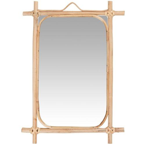 IB LAURSEN / Zrkadlo v bambusovom ráme Bamboo