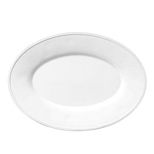 CÔTÉ TABLE / Oválný talíř Constance white