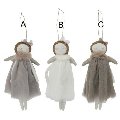 IB LAURSEN / Vianočná textilná ozdoba Textile Christmas Angel
