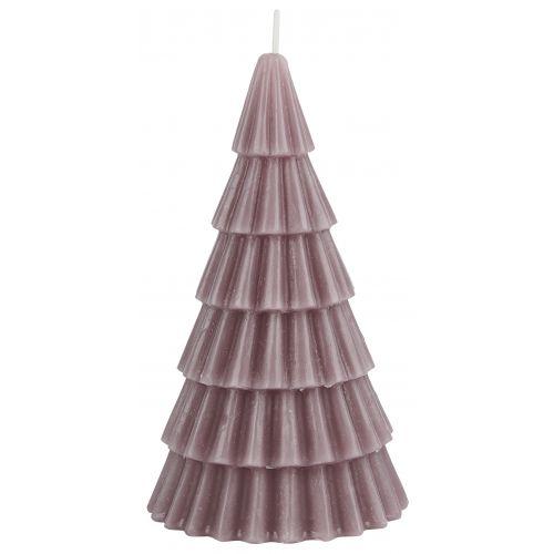 IB LAURSEN / Vysoká sviečka Christmas Tree Malva