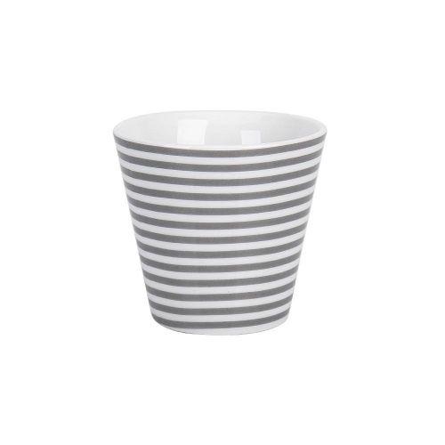 Krasilnikoff / Hrnček na espresso Grey Stripes