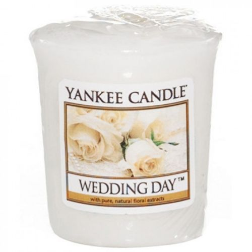 Yankee Candle / Votívna sviečka Yankee Candle - Wedding Day