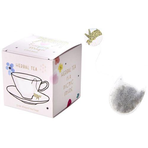 rice / Bylinný čaj s harmančekom Leopard - 5 sáčkov