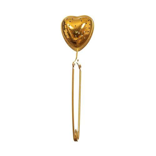 sass & belle / Kovové sitko na čaj Heart Gold