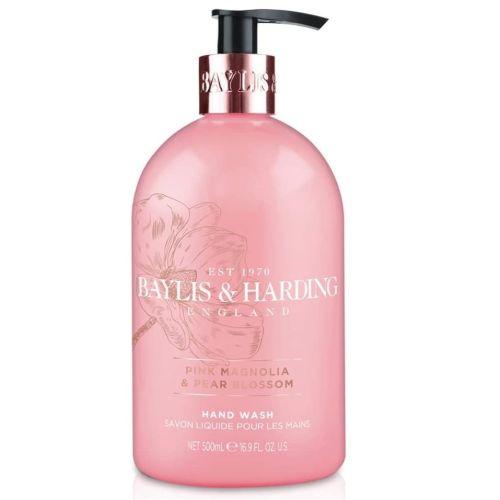 Baylis & Harding / Tekuté mydlo Pink Magnolia & Pear Blossom 500ml