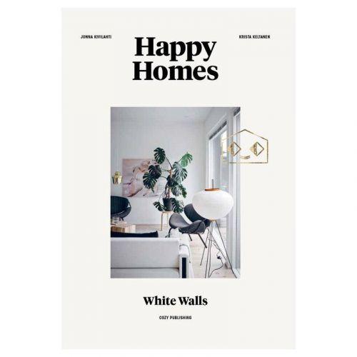 / Kniha - Happy Homes: White Walls, Jonna Kivilahti