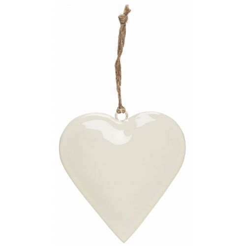 IB LAURSEN / Dekoratívne srdce Metal White