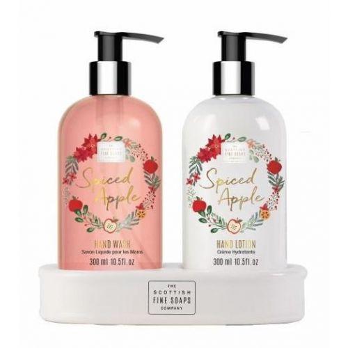 SCOTTISH FINE SOAPS / Darčeková sada starostlivosti o ruky Spiced Apple