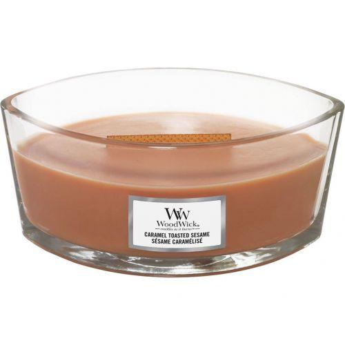 WoodWick / Vonná sviečka WoodWick - Caramel Toasted Sesame 454 g