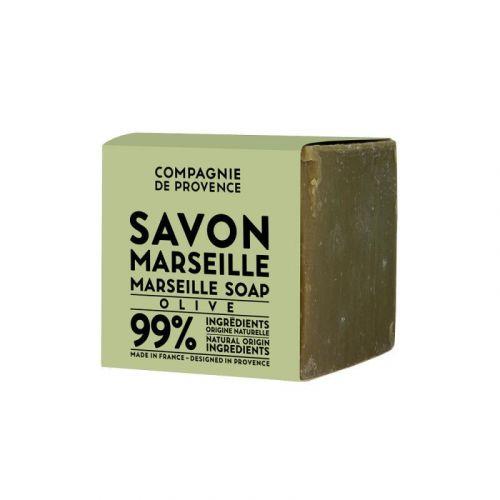 COMPAGNIE DE PROVENCE / Marseillské mydlo Olive 400 g