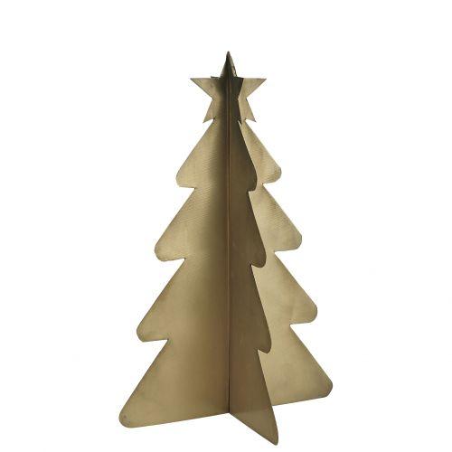 IB LAURSEN / Dekoratívny kovový stromček Brass 21 cm