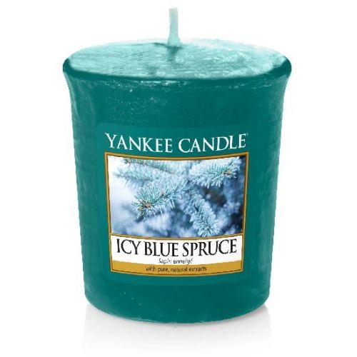 Yankee Candle / Votívna sviečka Yankee Candle - Icy Blue Spruce