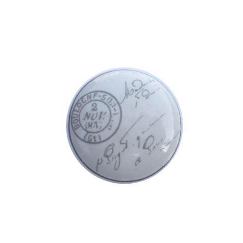 La finesse / Porcelánová úchytka Stamp