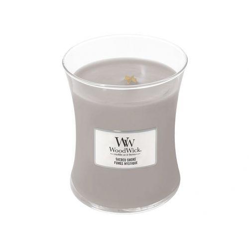 WoodWick / Vonná sviečka WoodWick - Sacred Smoke 85 g