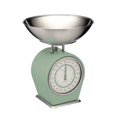 Kitchen Craft / Mechanická kuchynská váha Sage green - 4 kg