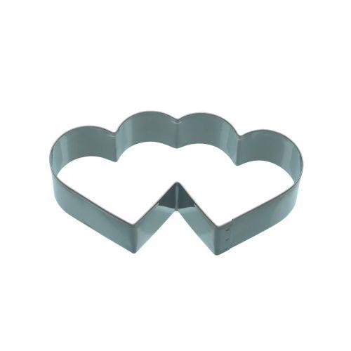Kitchen Craft / Nerezové vykrajovátko - dvoj srdce 11,5cm
