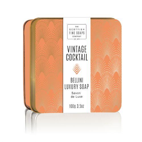 SCOTTISH FINE SOAPS / Mydlo v plechovej krabičke Bellini Cocktail