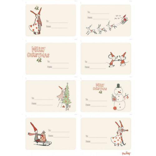 Maileg / Samolepící štítky na dárky