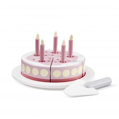 Kids Concept / Drevená torta na hranie Pink