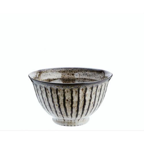 MADAM STOLTZ / Šedá kameninová miska Stoneware