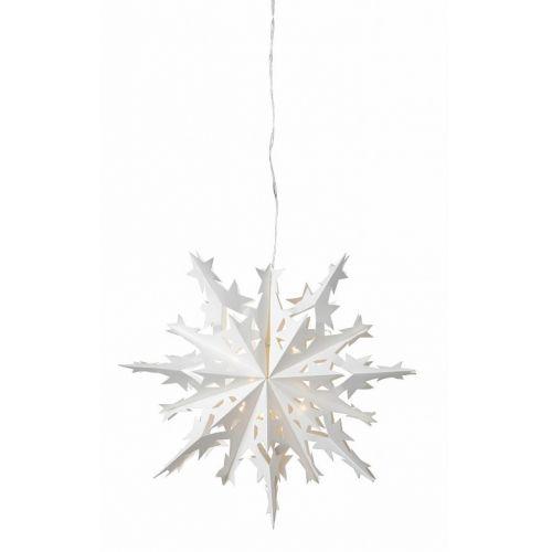 watt & VEKE / Dekoratívna svietiaca hviezda Kiruna White 25cm
