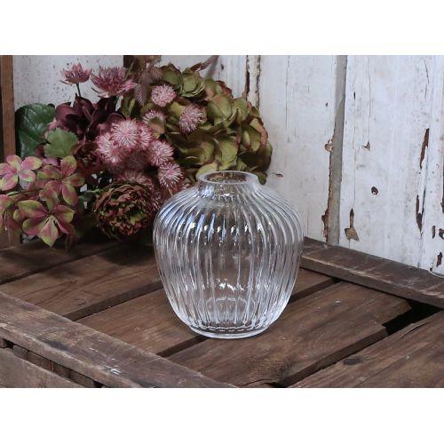 Chic Antique / Sklenená váza Creases Shape