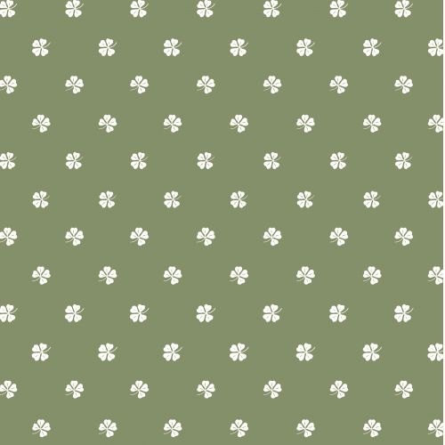 IB LAURSEN / Papierové obrúsky Four-leaved Clovers – 20 ks