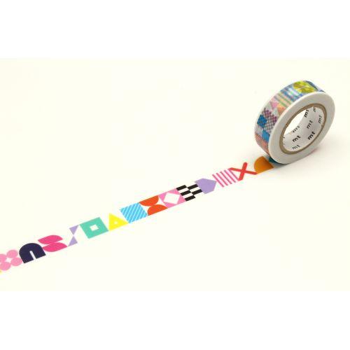 mt / Japonská papierová páska Kapitza Symbols