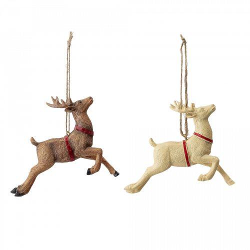 Bloomingville / Závesná vianočná dekorácia Deer