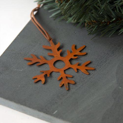 pluto produkter / Závesná dekorácia Rust Snowflake