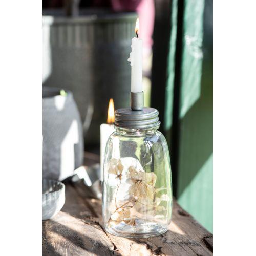 IB LAURSEN / Dóza so svietnikom Bottle Zinc