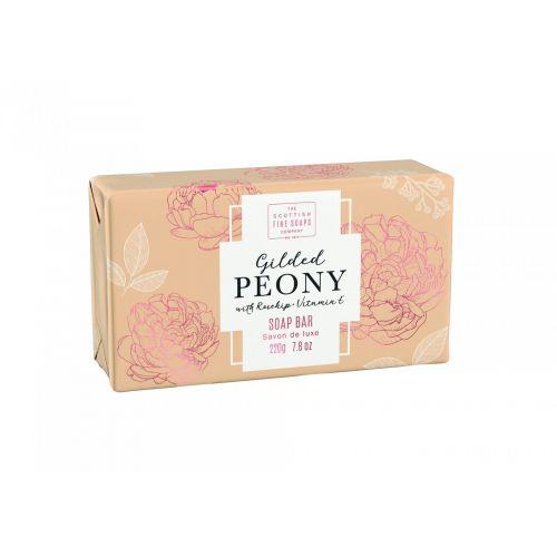 SCOTTISH FINE SOAPS / Luxusné tuhé mydlo Gilded Peony 220g