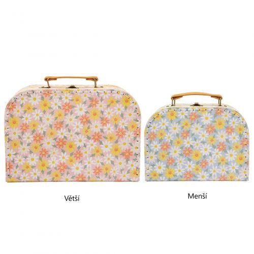 sass & belle / Detský kufrík Pink Daisy
