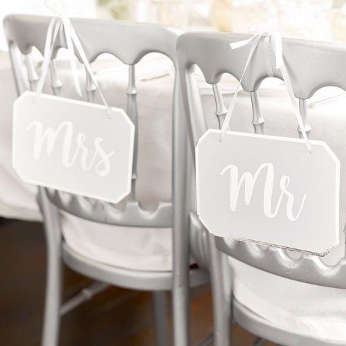Talking Tables / Závesná dekoratívna ceduľka MR